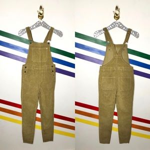 NEW We the Free corduroy overalls